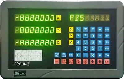 3- Axis Digital Readout Kit For 9x49 9 X 48 Bridgeport Mill Iso9001 Quality