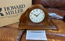 Howard Miller® 630-152 Hillsborough Oak Yorkshire Wood Mantle Clock  MADE IN USA
