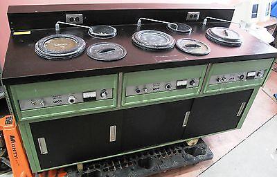 Leco 896-101-999 Lab Grinder Polisher 3 Vp-150 Station With 8 Wheels