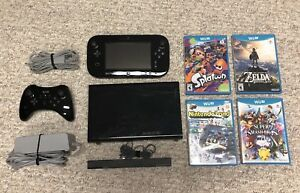 Wii U with Pro Controller and 4 Games