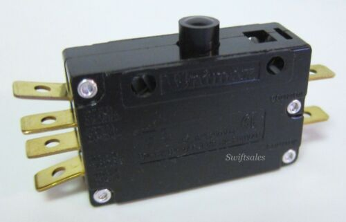 Unimax Type DA ADPDPO Sequential Operation DPDT 15A Push Button Microswitch