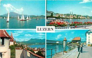 LUZERN SWITZERLAND Alphorn POSTCARD