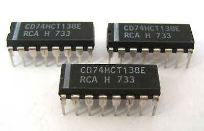 74hct138e 3-to-8 Decoderdemultiplexer 16-pin Dip 3lot Popular With Arduino