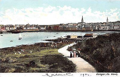 Ireland postcard Bangor Co. Down