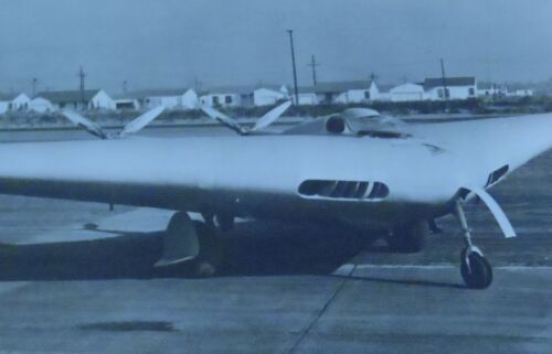 N-1 M on Tarmac 8 x 11 Northrop Aircraft Experimental Aircraft Vintage Photogra