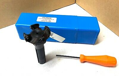Valenite 2 12 Indexable Axial Feed Cutter - Vsrda-4-r-2000-r8-04 - New In Case