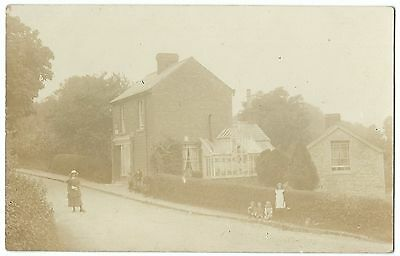 Unidentified Early 20th c Post Office RP PC Unposted, Location Unknown