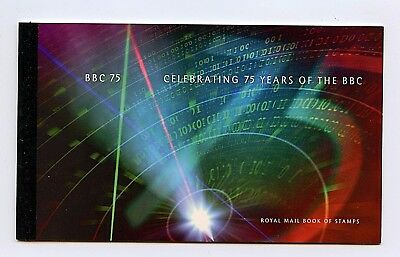 """Great Britain #BK162 (GR277) Comp 1997 """"75th Anniv of BBC"""" Booklet, MNH, VF"""
