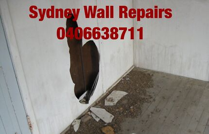 0 interior gyprock wall holes paper paint repairs SYDNEY Blacktown Blacktown Area Preview