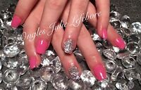 Pose d'ongles professionnelle 40$