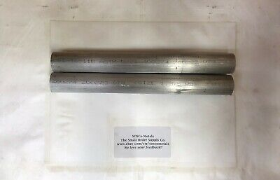 2 Pieces 1-38 Aluminum Round Rod 12 Long 6061 T6511 Solid Bar Stock Cut New