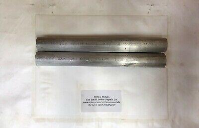 Aluminum Round Bar 1-38 X 12 2 Pieces 6061 Al Rb 1.375 Round 12 Long