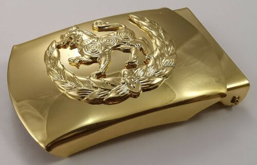 Cambodia National Police Brass Belt Buckle (without belt strap)