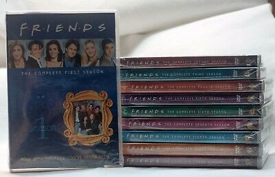 Friends The Complete Series Collection DVD 2013 Seasons 1 2 3 4 5 6 7 8 9 10 NEW