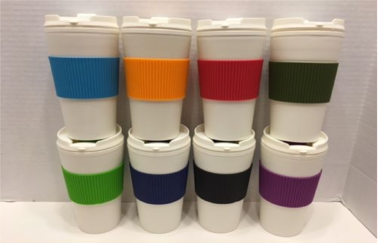 Thermal-16 oz-Travel-Coffee-Mug-Cup-Flip-Lid-with-Rubber-Han