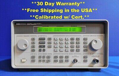 Agilent Hp Keysight 8648c Synthesized Rf Signal Generator 9 Khz - 3200 Mhz