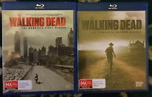HBOs Hit Series 1 & 2 Walking Dead Blu-Ray - As New Dulwich Hill Marrickville Area Preview