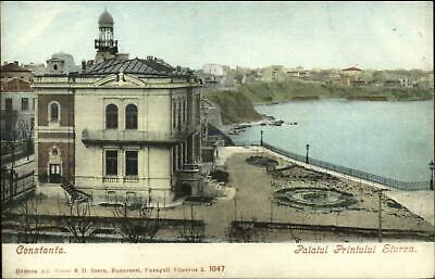 Constanta Romania Palatul Printului Sturza c1900 UDB Postcard