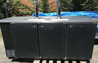 Beverage Air Keg (Beverage Air DD 78 Commercial 4 Keg Refrigerator Works Great ready-to-ship )
