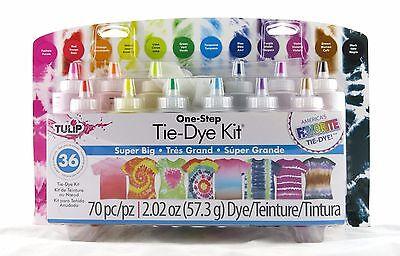 Super Big One Step Tie Dye Kit Tulip NEW tye die craft activity party family fun (Tye Die Kit)