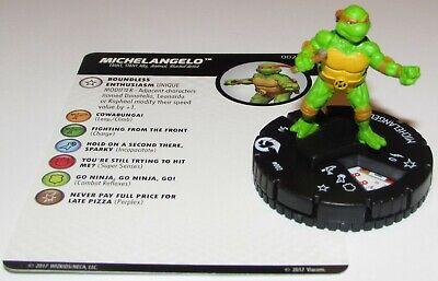 Miguel Ángel FF002 las Tortugas Ninja 3 Tortugas Shredder's Retorno Heroclix