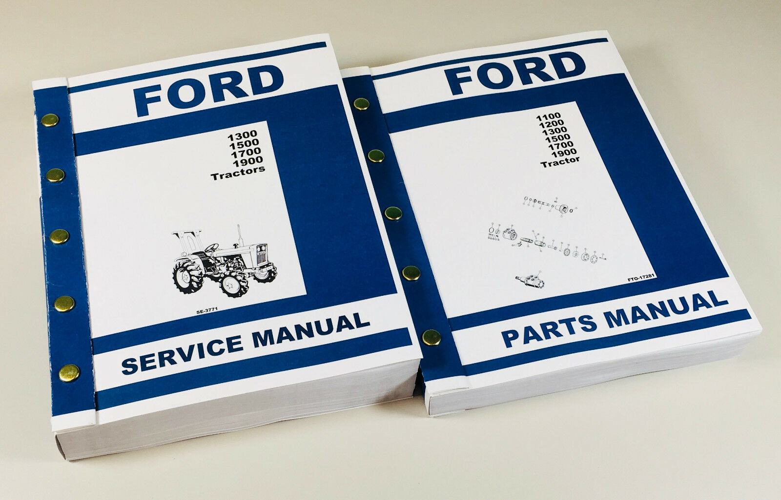 Complete Factory Service Manual & Parts Catalog