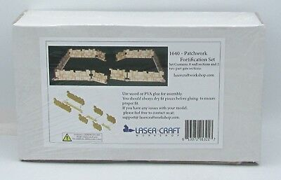 Laser Craft Workshop 1640 Patchwork Fortification Set (Battlefield Accessories)