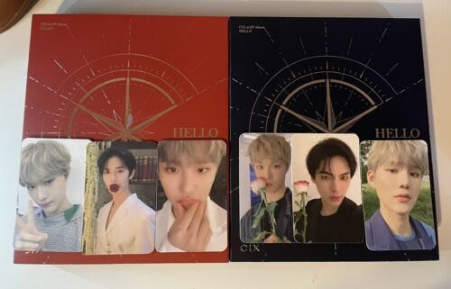 CIX Chapter 1 Albums W/ All Inclusions - $33.00