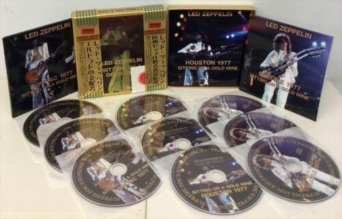 9CD Led Zeppelin On A Gold Mine Eldorado Ruler 1977 Show Rock Live Rare