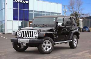 2014 Jeep Wrangler Unlimited Sahara 4X4 | HEATED LEATHER | NA...