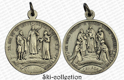 Medal Religious Ss mm of La Lande-Jogues-Goupil S.J.1930. Canada. 32 MM