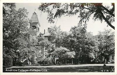 Cuthbert Georgia~Andrews College~1949 Real Photo Postcard