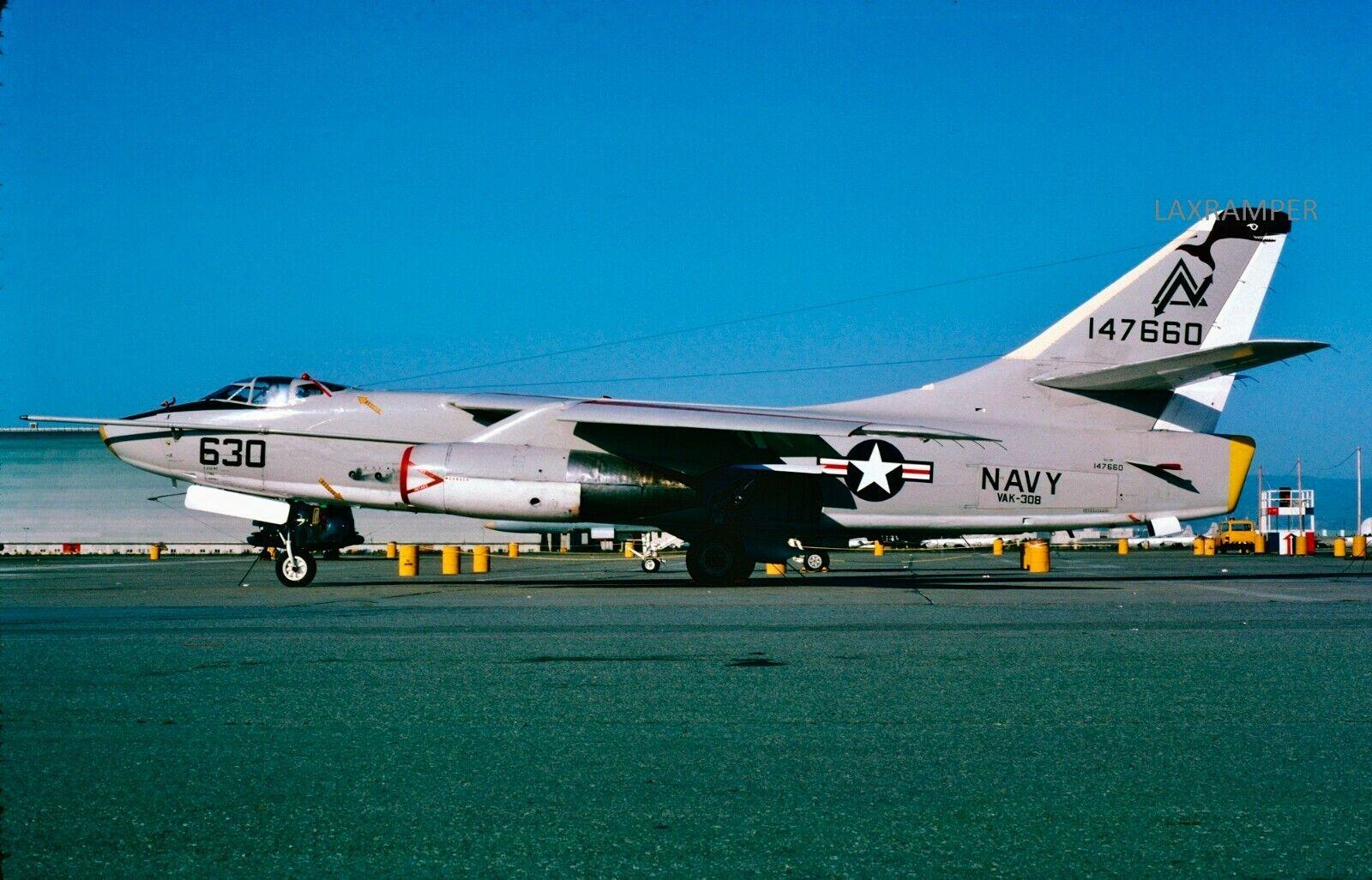 Original Slide USN Douglas BuNo 147660 KA-3B CN 12424 Sky Warrior NAVY A-3  - $1.95