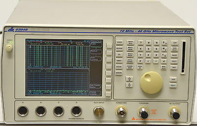 Superb Aeroflex Ifr 6204b Microwave Test Set 10mhz-46ghz Woption