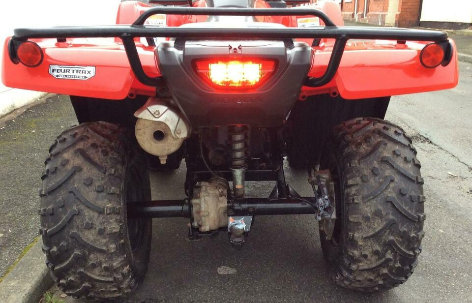 2017 HONDA TRX420 FM MANUAL P/S TEERING FOURTRAX 4x4 QUAD BIKE ATV FOUR WHEEL