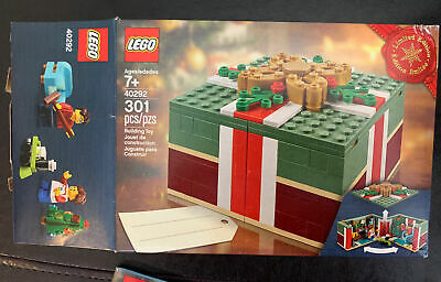 LEGO 40292 Buildable Holiday Present Christmas Gift 301pcs 100% Complete