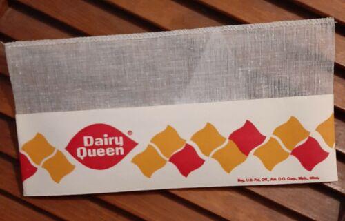 Vintage Rare Dairy Queen Paper Hat Soda Jerk NOS Perfect 1970