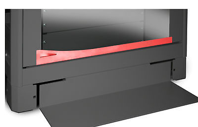 Intellinet Dispositivo antiribaltamento per armadi 600mm Nero