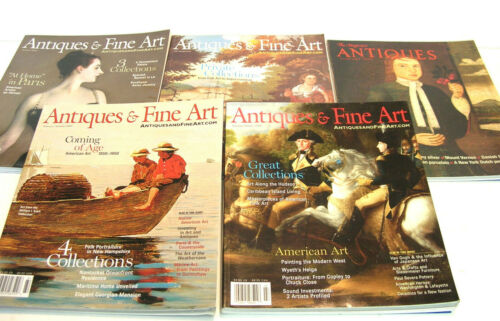 Antiques The Magazine 2006 Five Issues