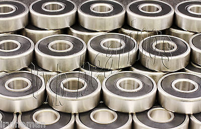 Lot 100 608rs Skateboardinline Skaterollerbladefidget Ball Bearing 608-2rs