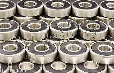 100 Pcs. 608-2RS Skateboard/Inline Skate/Rollerblade/Hockey/Fidget Spinner Sale