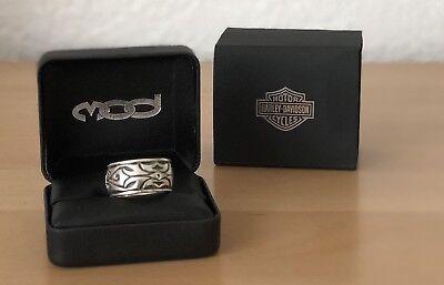 Harley Davidson Carved Skull Ring MOD #HDR0281 11