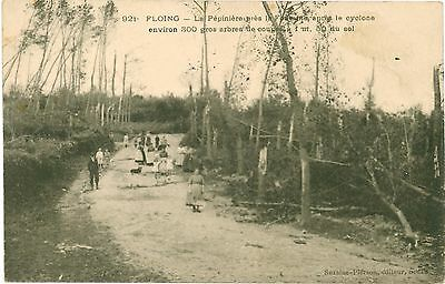 FLOING Ardennes FRANCE After the CYCLONE Destruction PC 1906