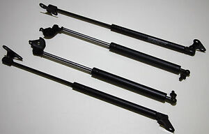 Toyota Landcruiser 80 Series Tailgate and Bonnet Gas Struts - 2 Pair