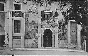 Cartolina-Postcard-Gardone-Riviera-Vittoriale-Ingresso-alla-Prioria