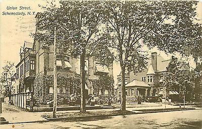 Schenectady Ny Union Street Residential 1910 P C
