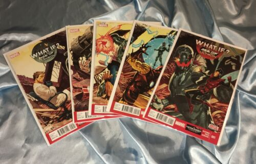 WHAT IF? AGE OF ULTRON #1,2,3,4,5~COMPLETE SET/STORY~1st PRINT SET~HTF~NM/NM+