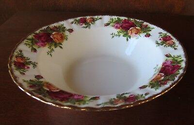 """Royal Albert Old Country Roses Gold Trim 8"""" Rim Soup Bowl Country Roses Rim Soup Bowl"""