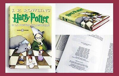 Harry Potter e la Pietra Filosofale - Prima Edizione - Tredicesima Ristampa 2001