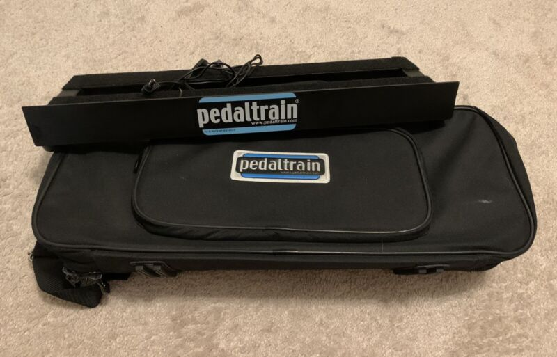 Pedaltrain Mini Pedalboard + Soft Carrying Case - Pedal Train Nano Jr Classic